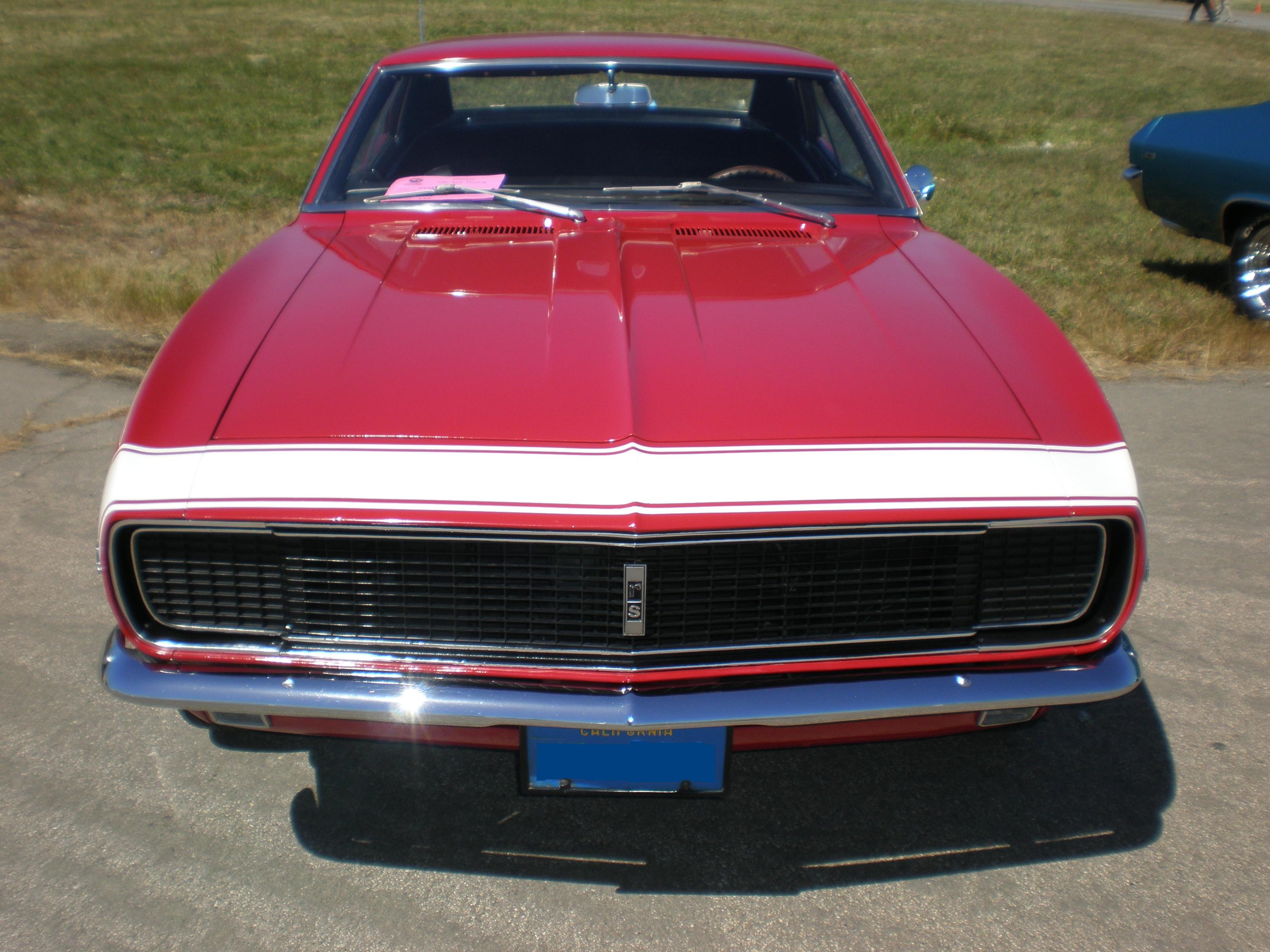 File:1967 red Chevrolet Camaro RS front.JPG