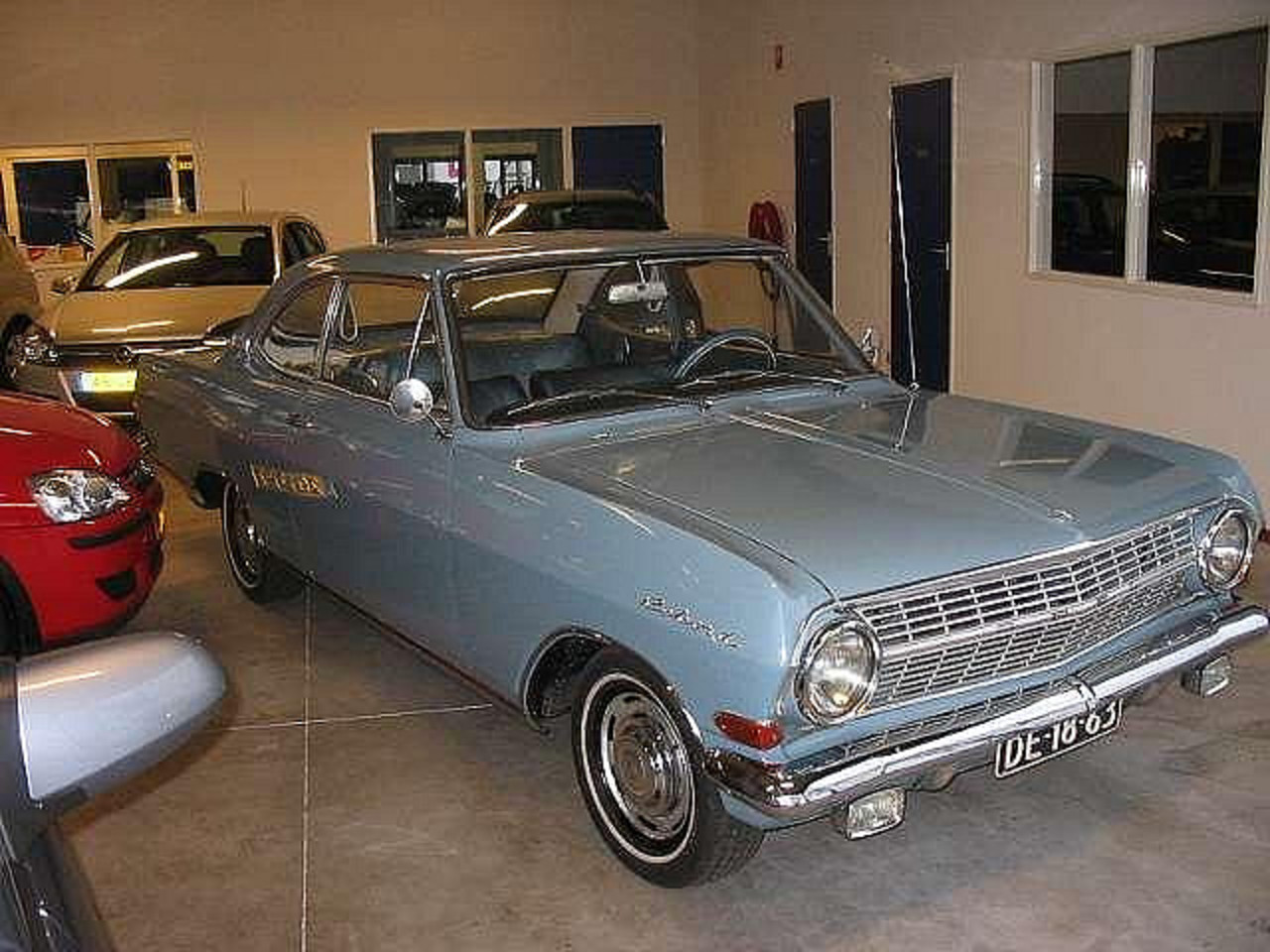 Opel Rekord 1700 coupe 1964 by willemsknol