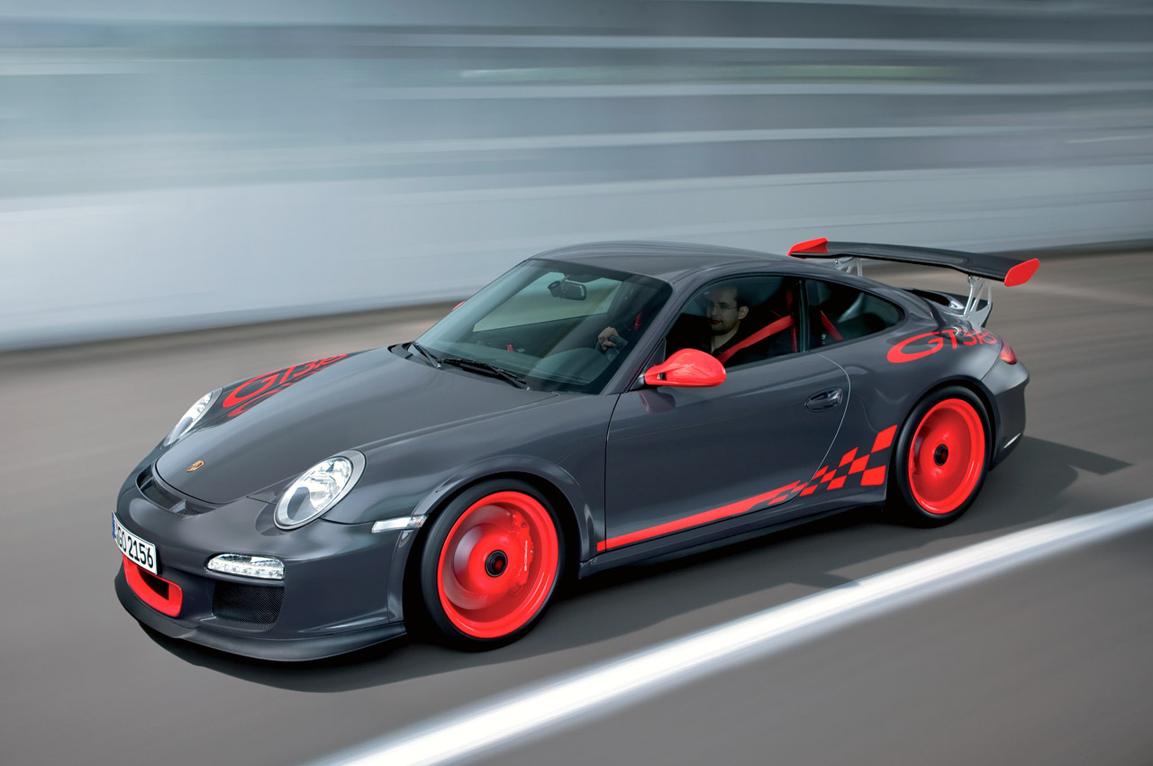 2010 Porsche 911 GT3 RS Officially Unveiled