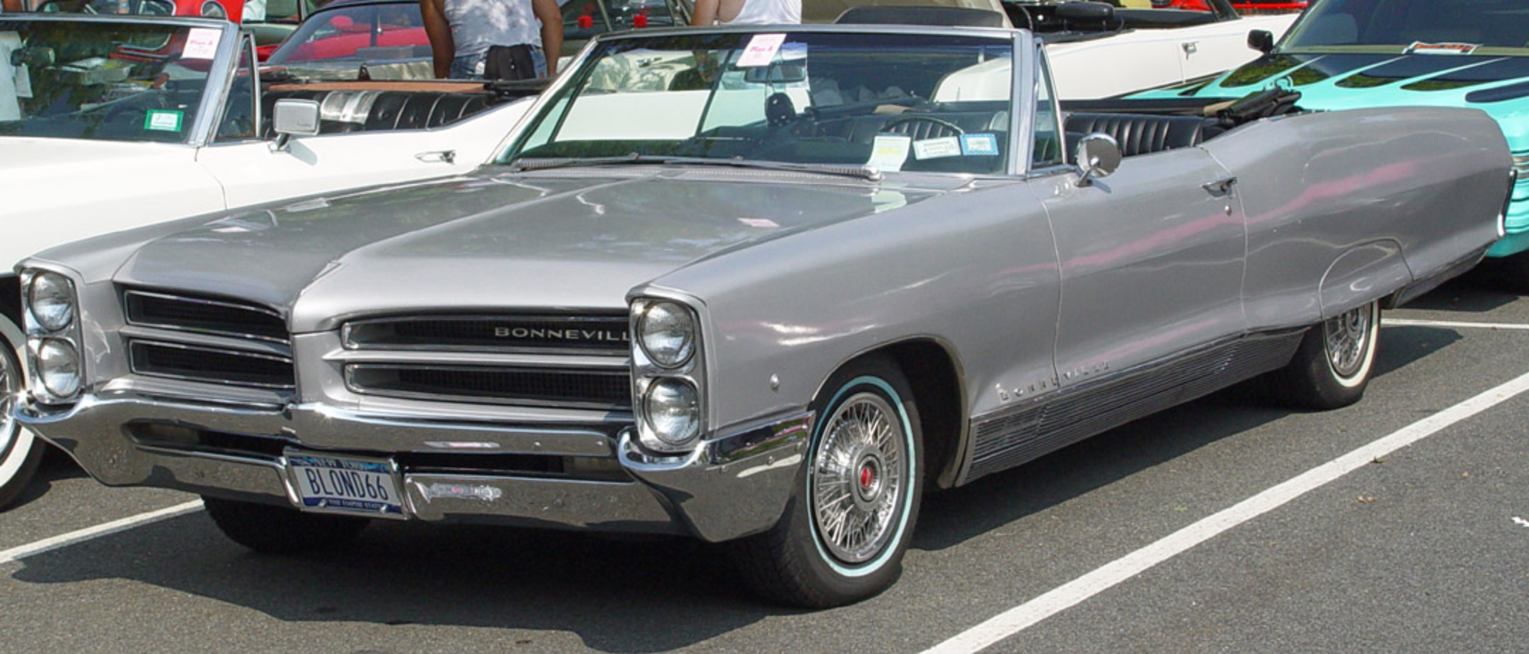 1966 Pontiac Bonneville Convertible. In Outer Space!