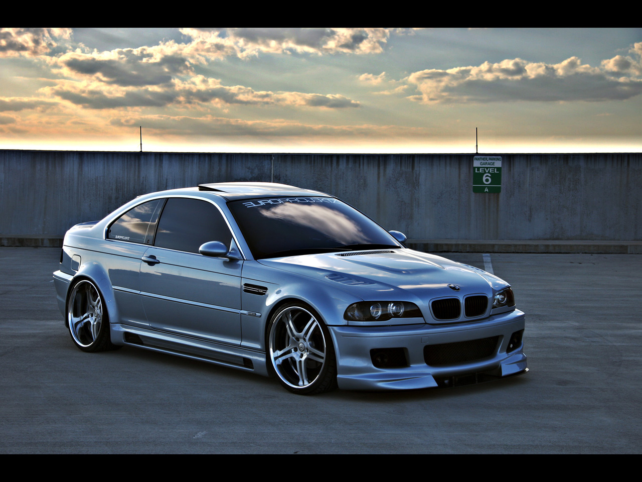 2003 BMW 325Ci Europrojektz ///OSS - Front And Side 1 - 1280x960 - Wallpaper