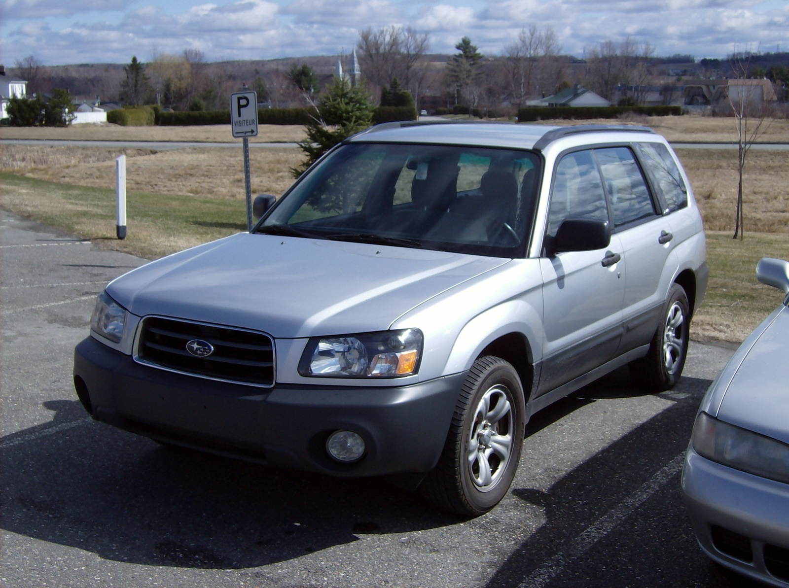 2003 Subaru Forester X picture, exterior