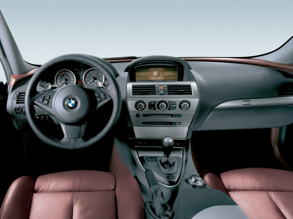 BMW 6 Series 640d Coupe Interior picture of This car