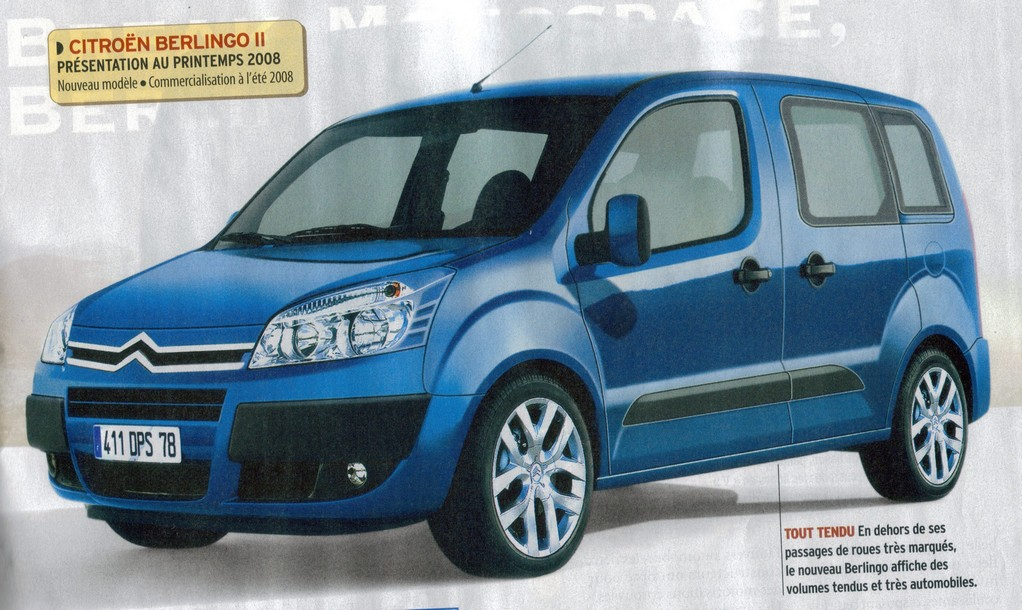 Citroën Berlingo: 02 фото