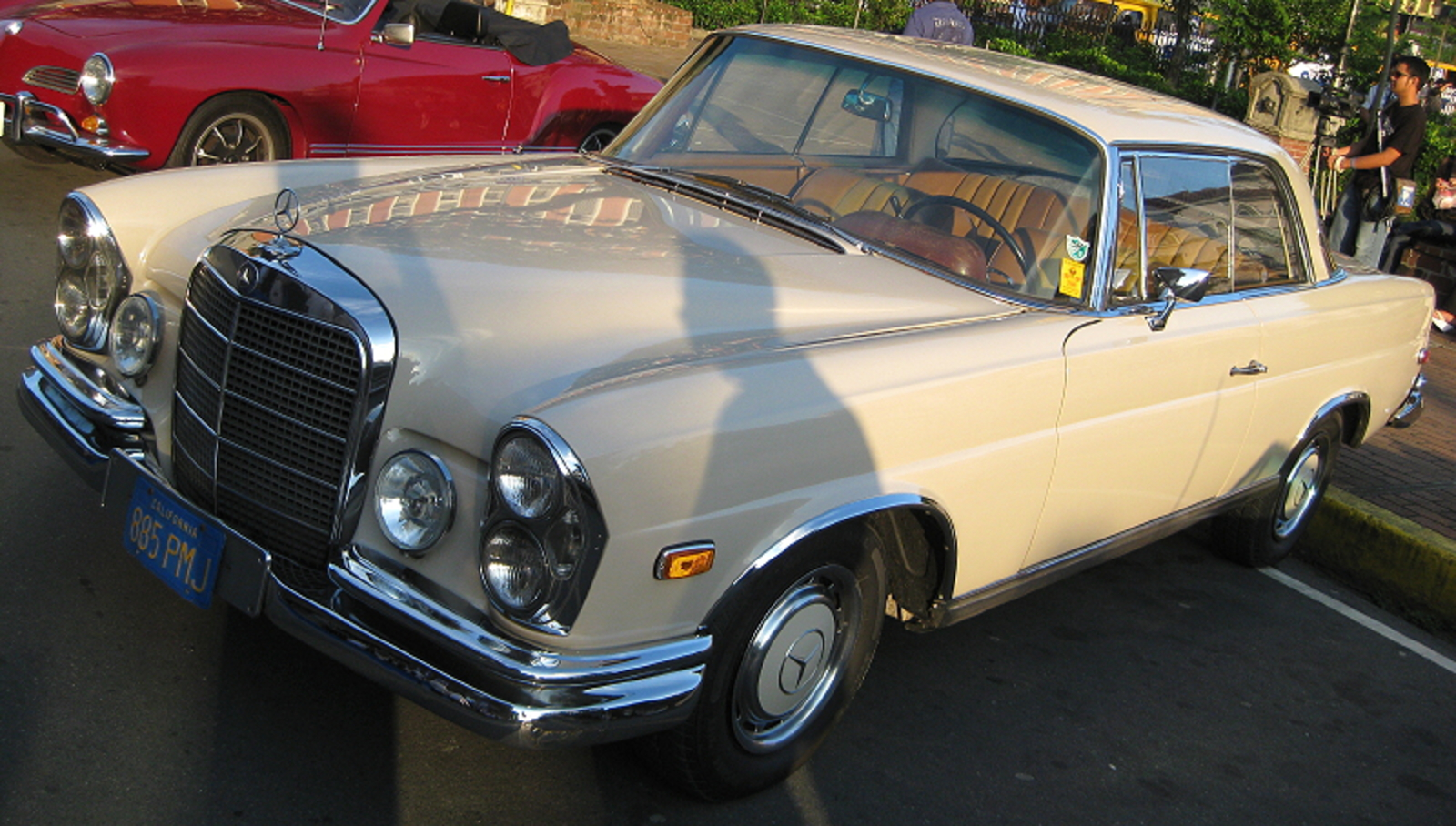Mercedes Benz 280 SE – Also automatic
