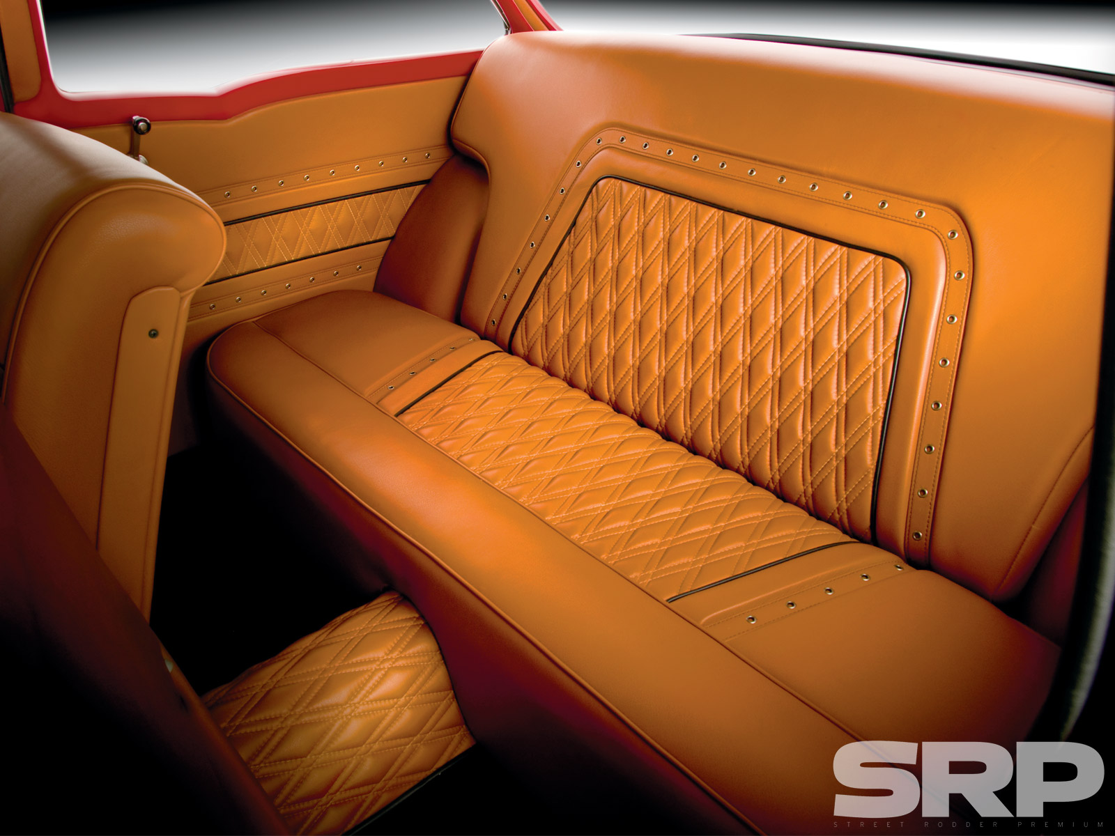 1955 Chevrolet 210 Sedan Backseat