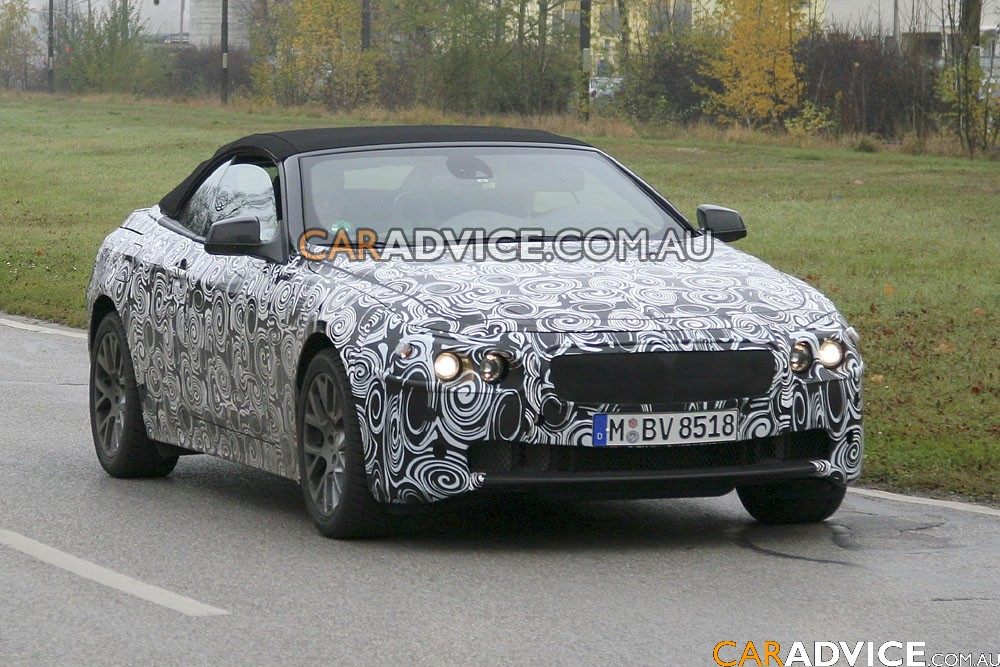 2009 BMW 6 Series cabriolet spied. Its appearance is quite odd,