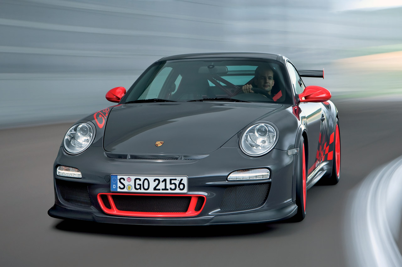 "and damping. The ""zero lift"" aerodynamics Porsche uses on the GT3 class"