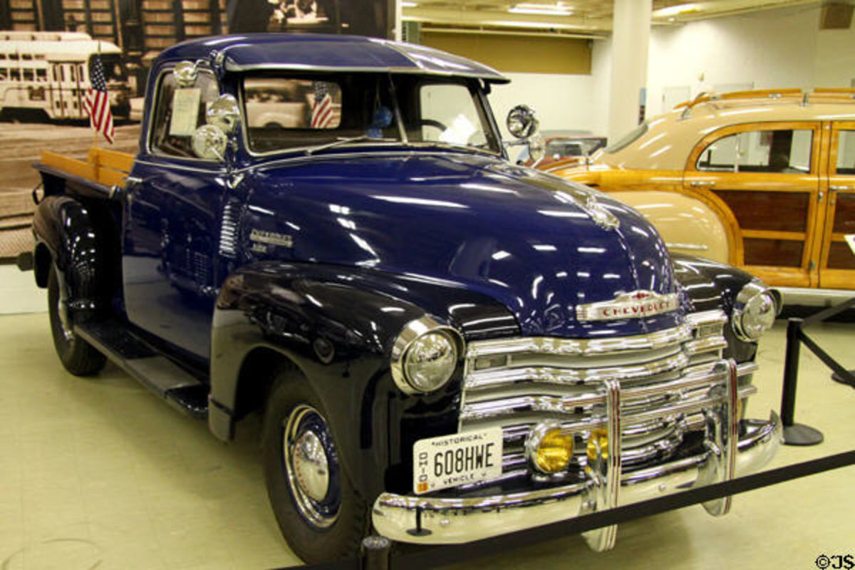 Chevrolet 3100 GP Pickup Truck (1949) at Crawford Auto Aviation Museum of