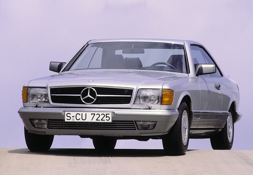 Mercedes-Benz 500 SEC. basic info. spec rating