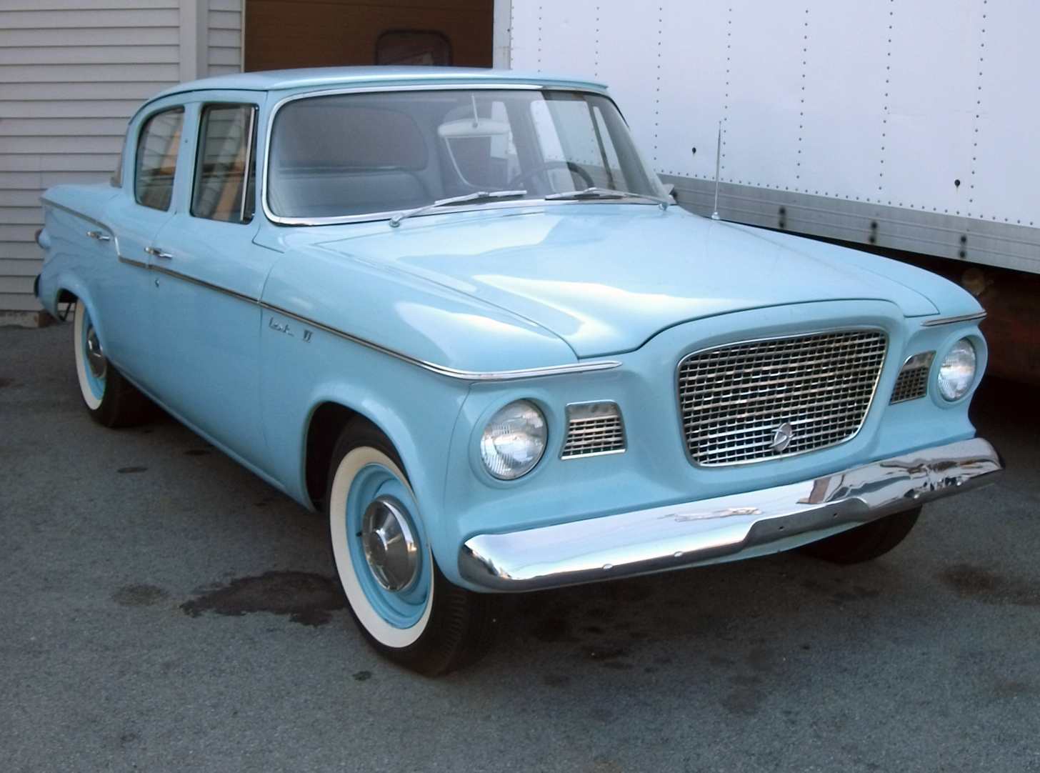 File:1960 Studebaker Lark VI powder blue.jpg - Wikimedia Commons