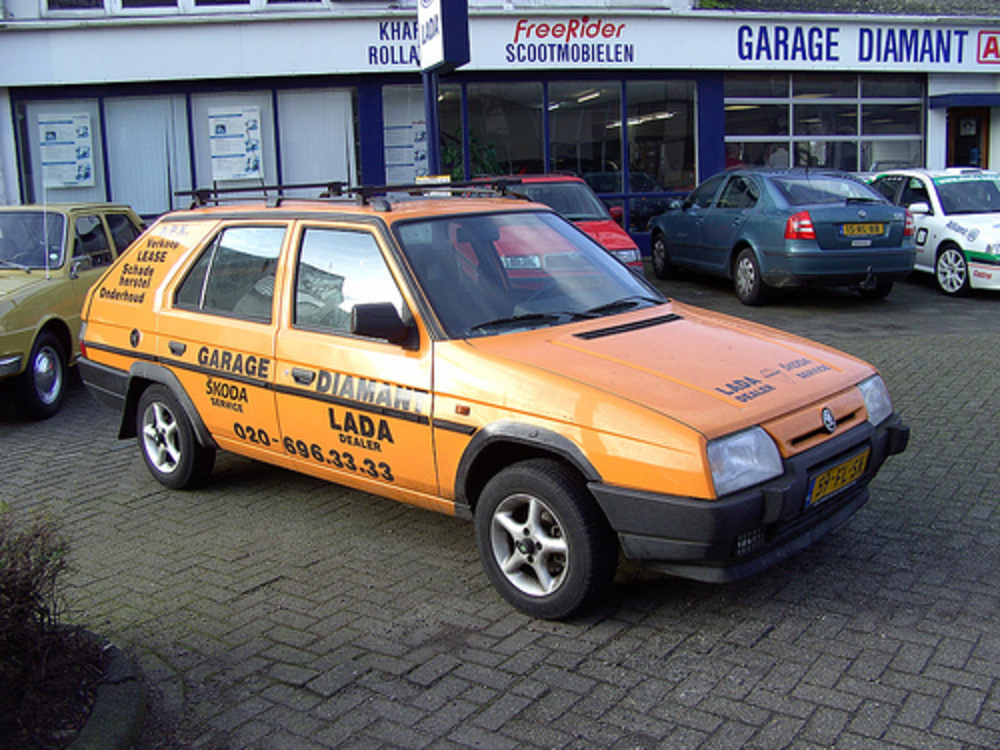 A Skoda Forman is a rather rare car in Holland.
