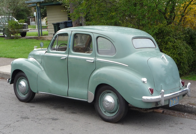Curbside Classic: 1951 Austin A40 Devon | The Truth About Cars