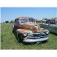 3081 1948 CHEVROLET FLEETMASTER, 4DR, COMPLETE, HAS RU Start Price: