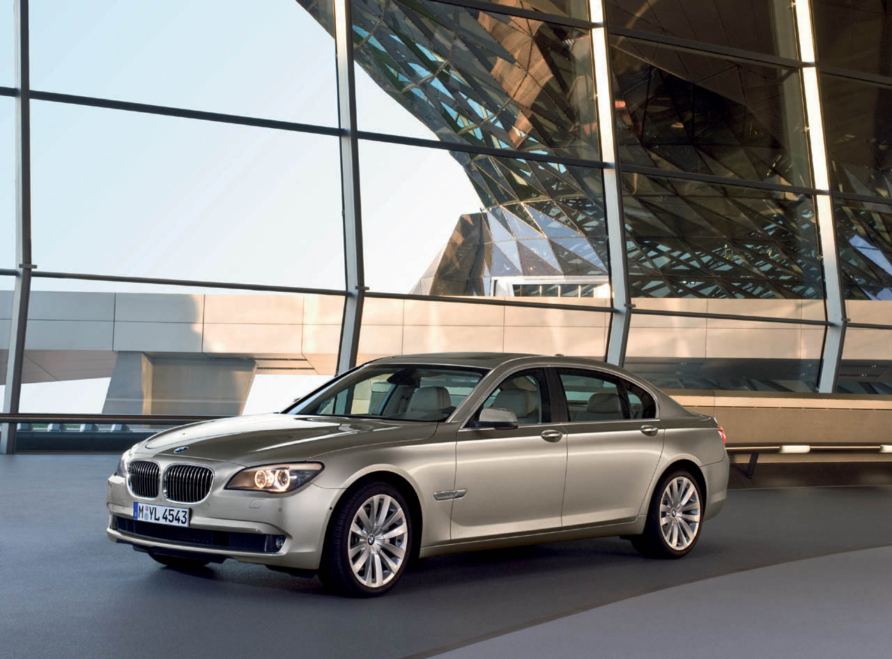 The 2010 BMW 750i and 750Li will be offered with BMW's xDrive