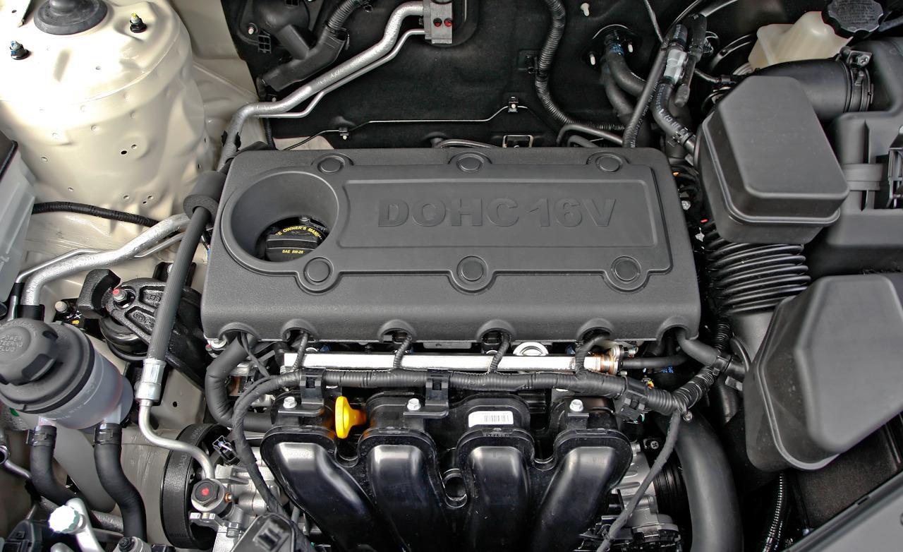 Замена масла в двигателе киа соренто 2.4