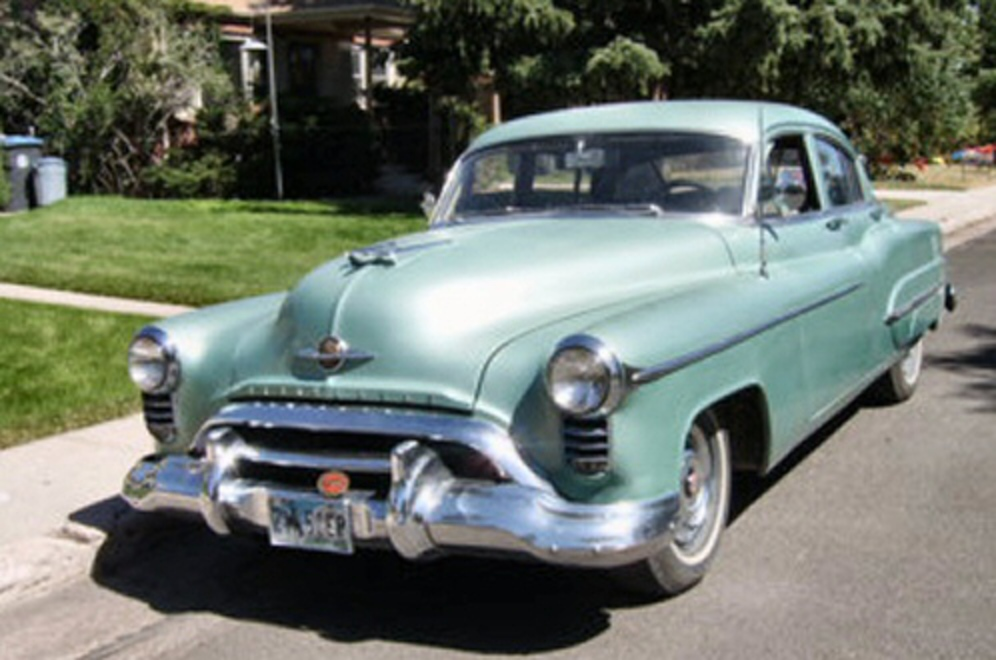 1950 Oldsmobile 98 4DR Sedan 303 Rocket V-8, Hydromatic, 77K Miles,