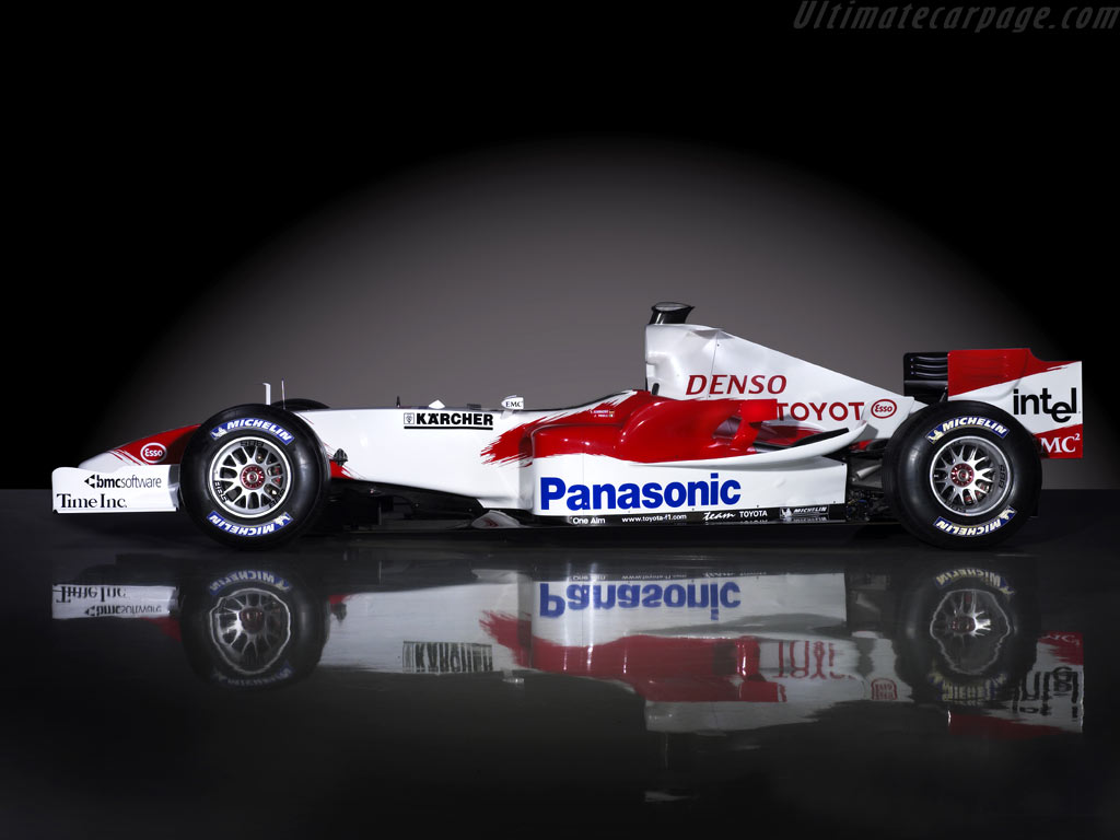 You can vote for this Toyota TF105 photo