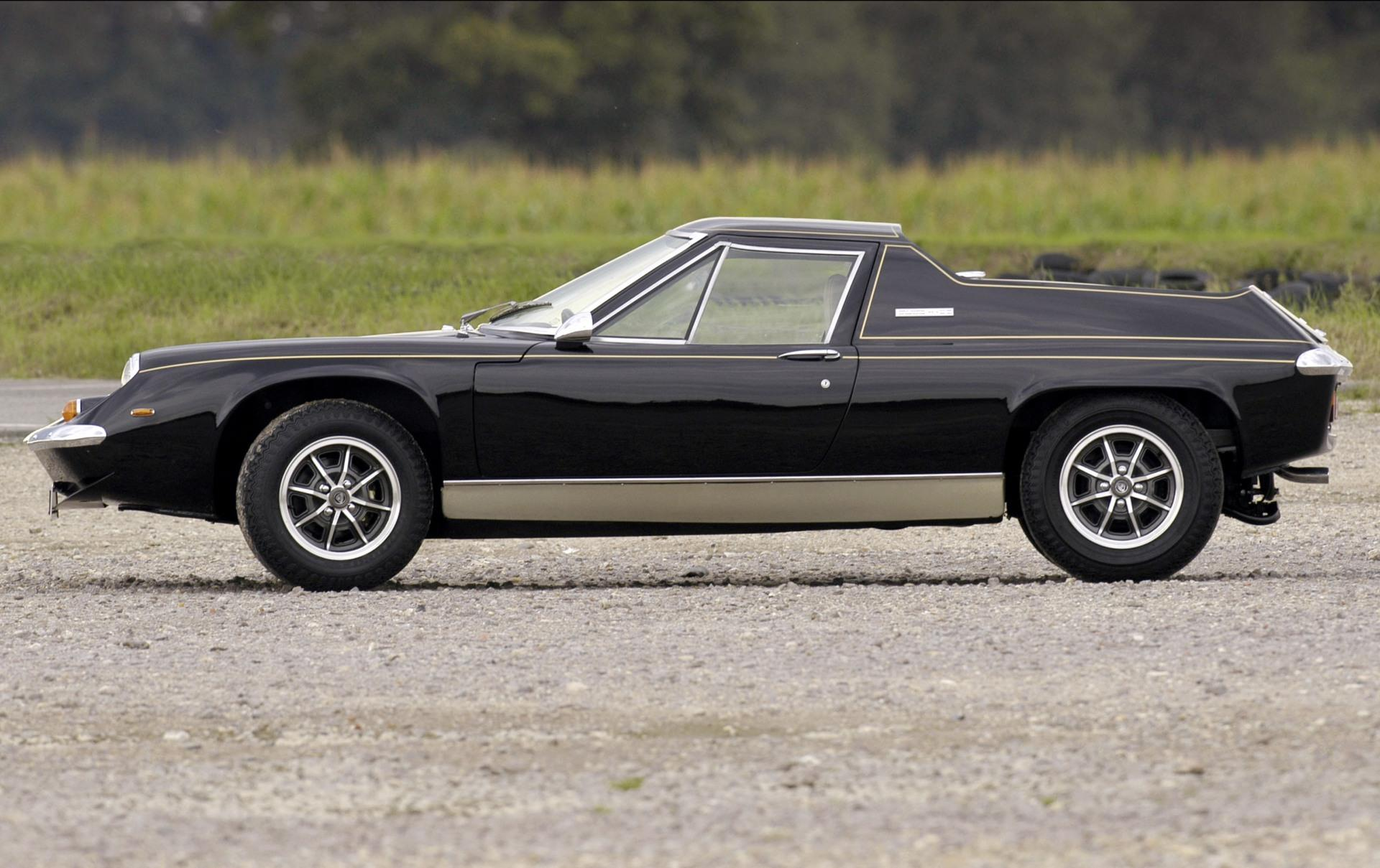 1974 Lotus Europa JPS Images. Photo: Lotus-