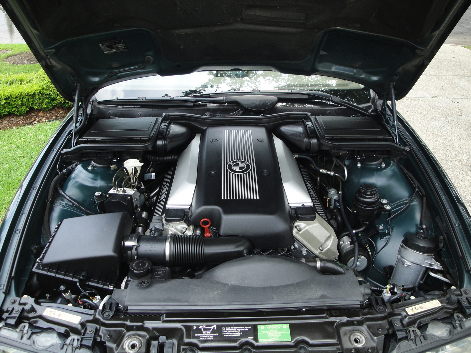 2001 BMW 5 Series 540i, Picture of 2001 BMW 540i, engine