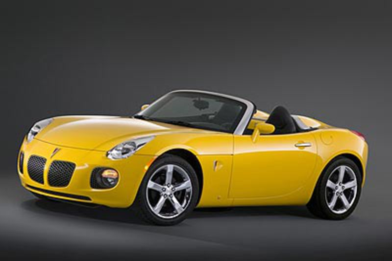 2007 Pontiac Solstice GXP First Drive. October 13, 2006 | Performance that's
