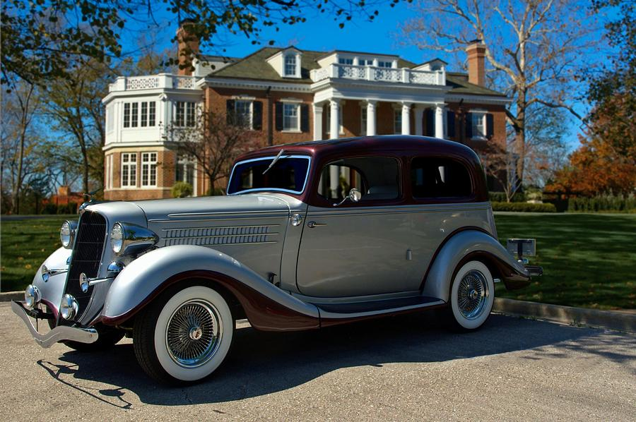 1935 Hudson Terraplane Brougham Photograph by Tim McCullough ...