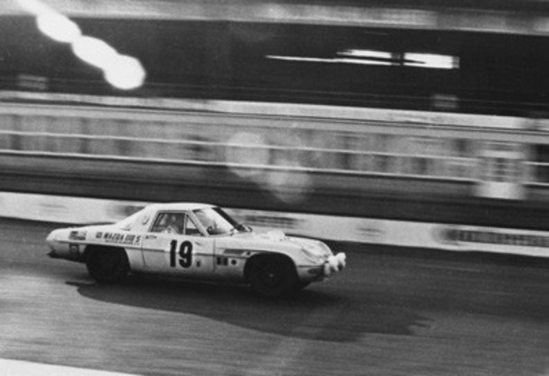 Mazda Cosmo Sports 1968 Nurburgring. Back in 1968 (before most of us here