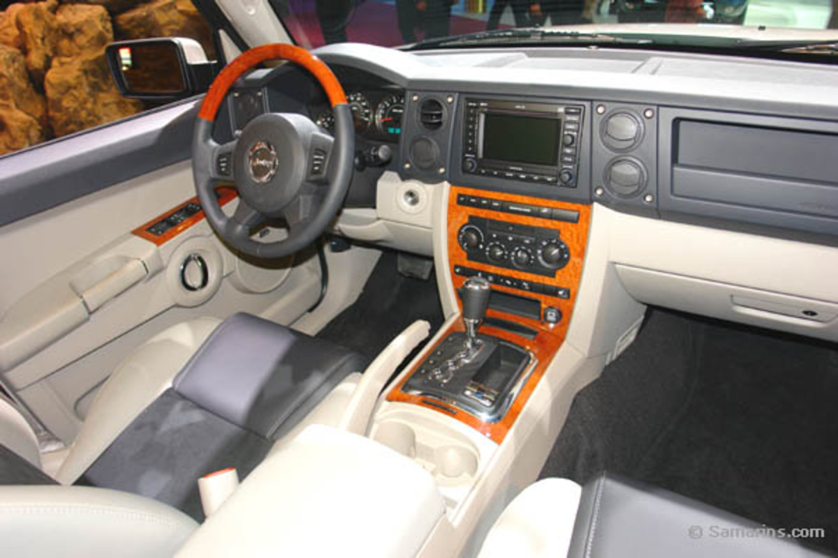 Topworldauto photos of jeep commander photo galleries for Jeep commander interior