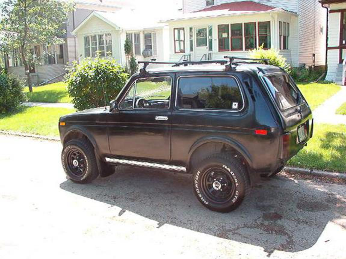 "THIS 1995 LADA NIVA COSSACK HAS MODIFIED WITH CUSTOM 3"" DRIVESHAFT TO"