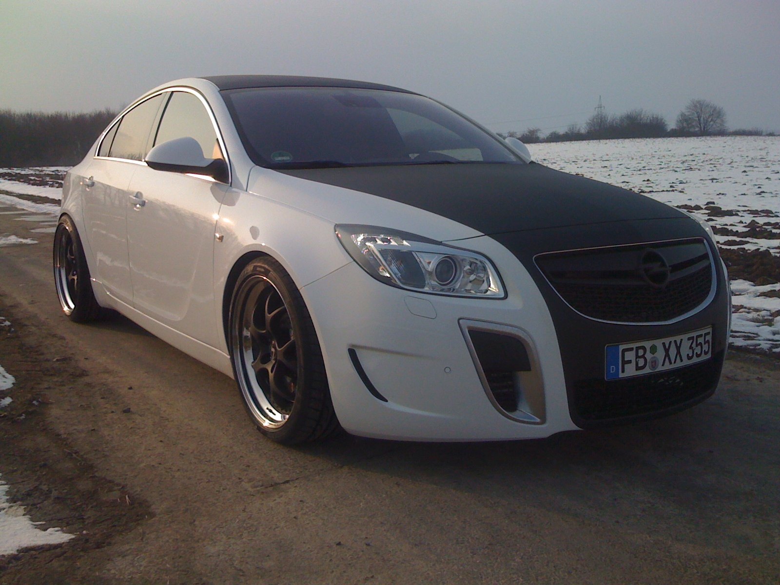 VN-Line 3-tlg an Opel Insignia OPC