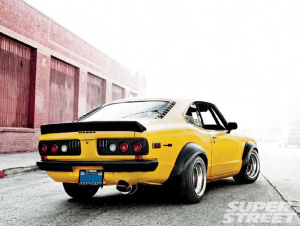 Old School – 1973 Mazda RX 3. Owner Arnell llog – Hometown corona,