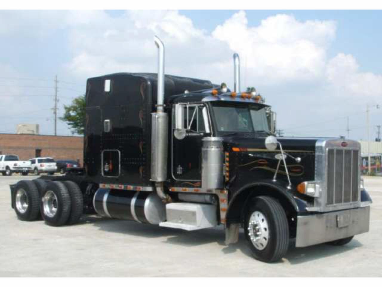 Peterbilt 379 EXHD: Photo gallery, complete information about ...