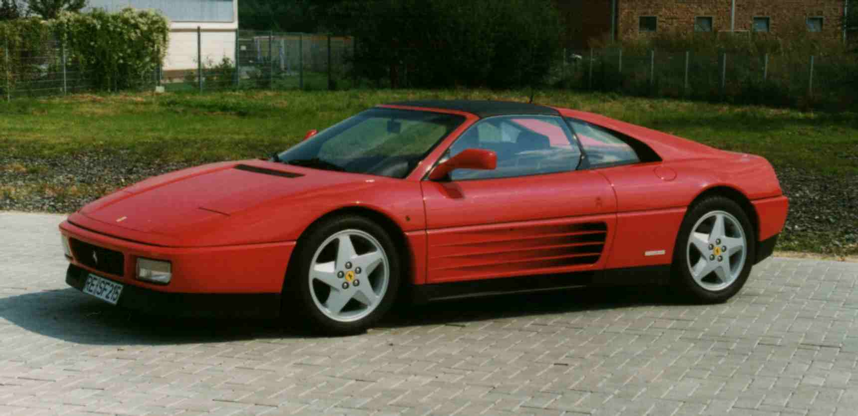 topworldauto photos of ferrari 348 ts photo galleries. Black Bedroom Furniture Sets. Home Design Ideas