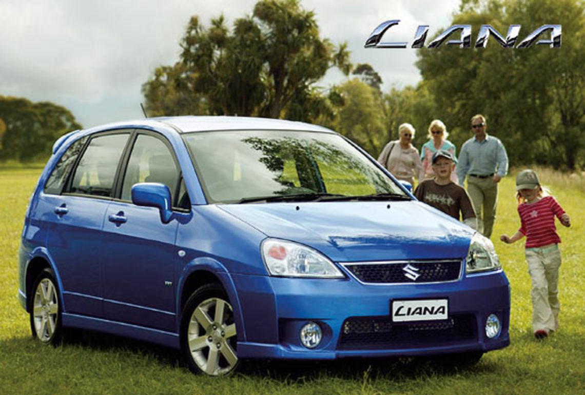 The Suzuki Liana was never a truly succesful car in China,