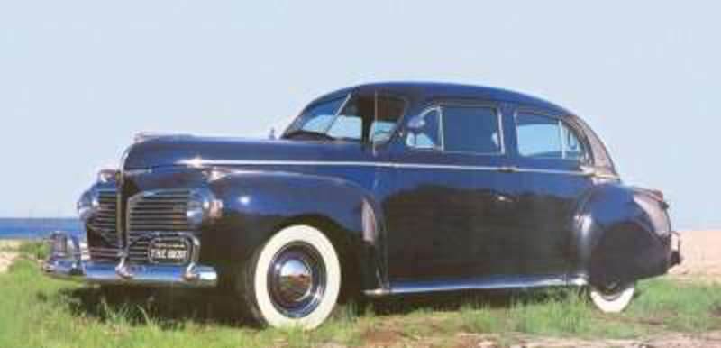 Period Dodges, like the 1941 Custom Town Sedan, were very down-to-
