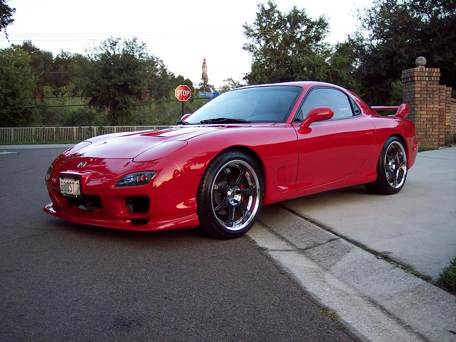 Mazda Rx 7 Standard Features. ----------------------------