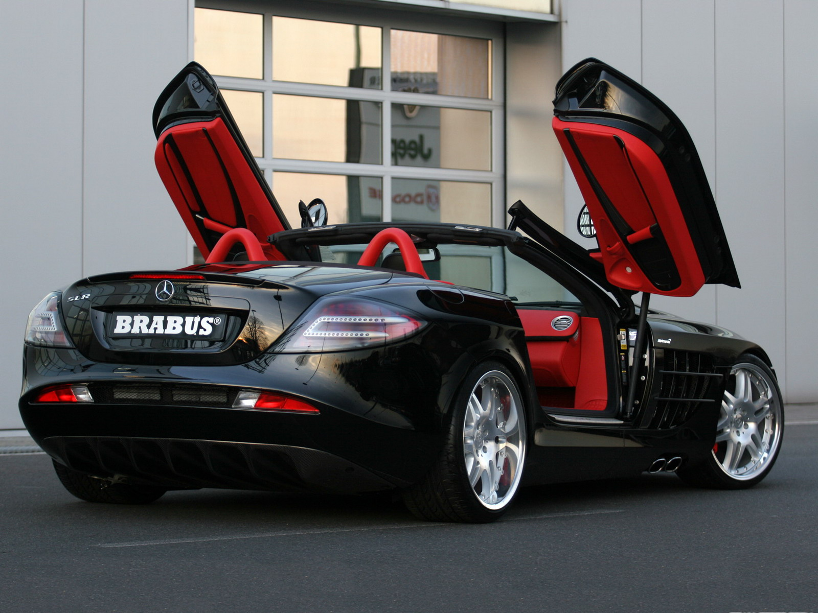 Mercedes-Benz SLR Brabus. View Download Wallpaper. 1600x1200. Comments