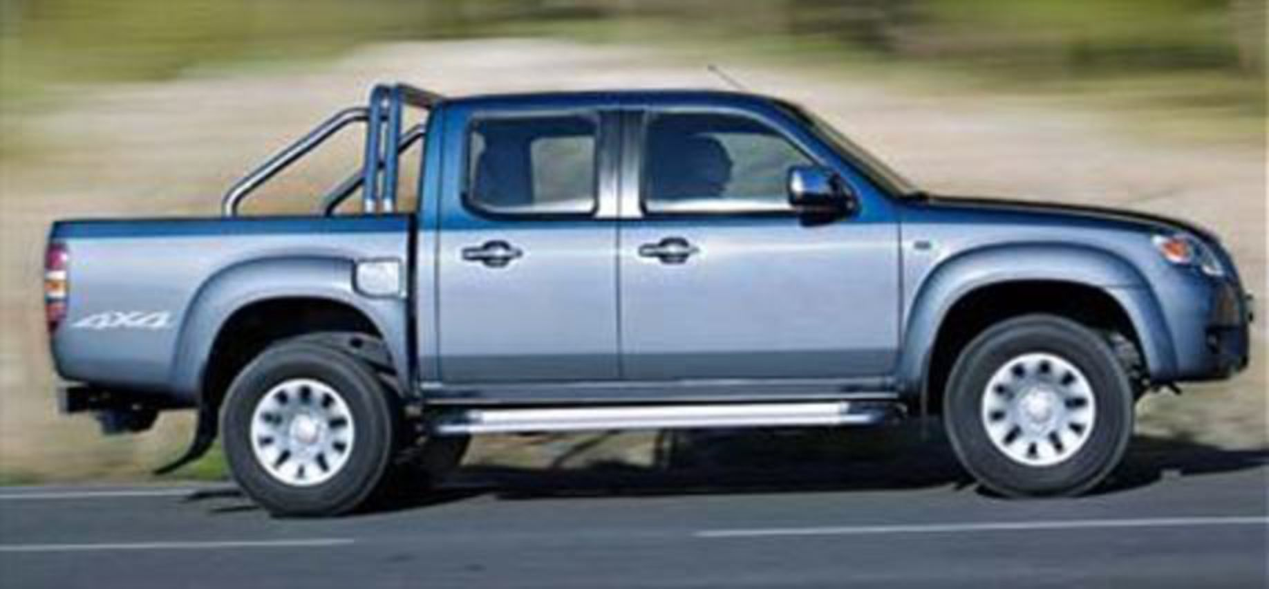 Mazda Bt 50 Pickup Side View