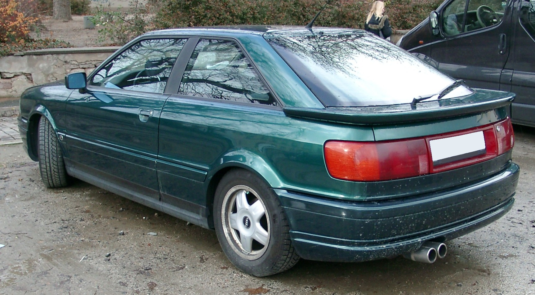 File:Audi Coupe rear 20071126.jpg - Wikimedia Commons