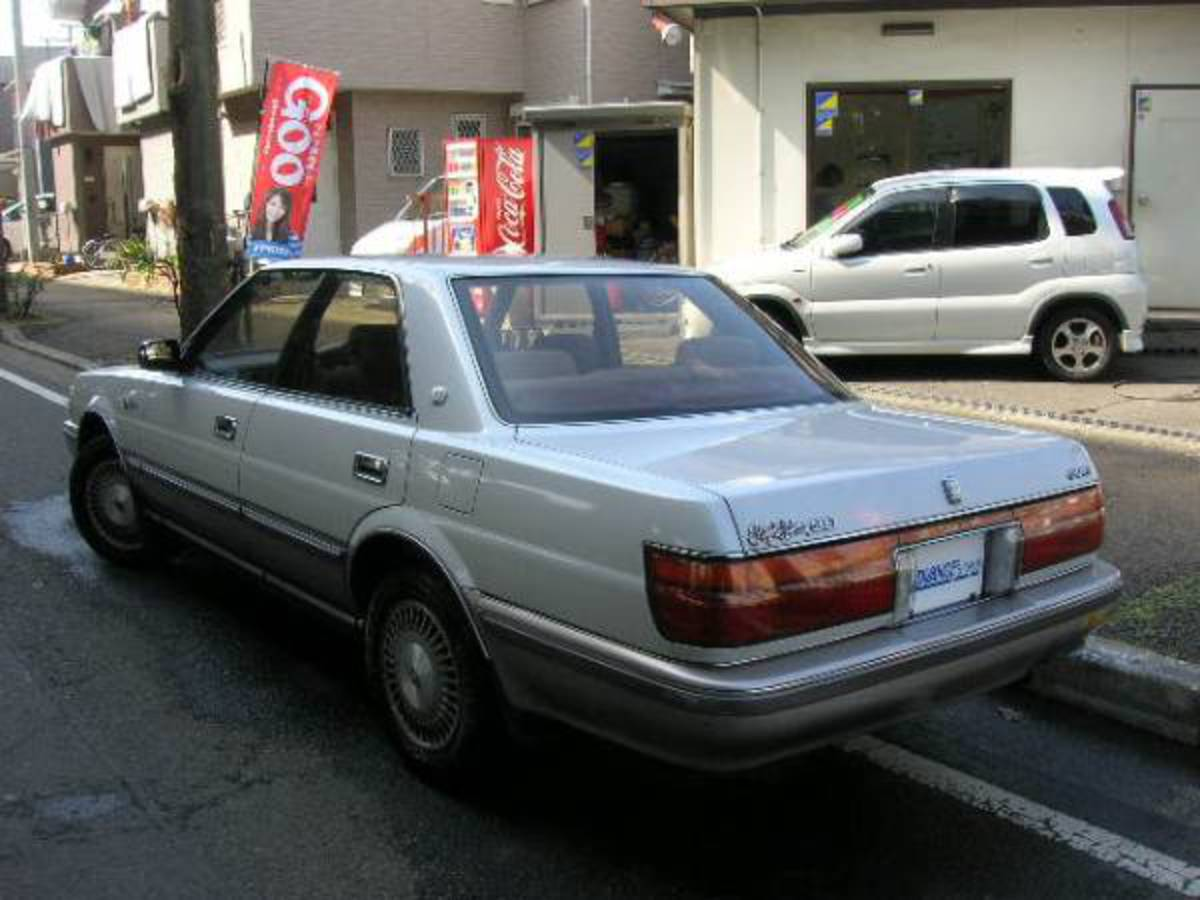 #1989 #toyota #crown #royal #saloon G
