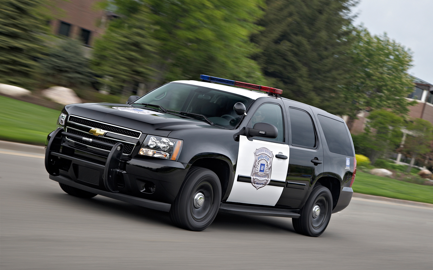 2012 Chevrolet Tahoe PPV 2WD Front Left Side View