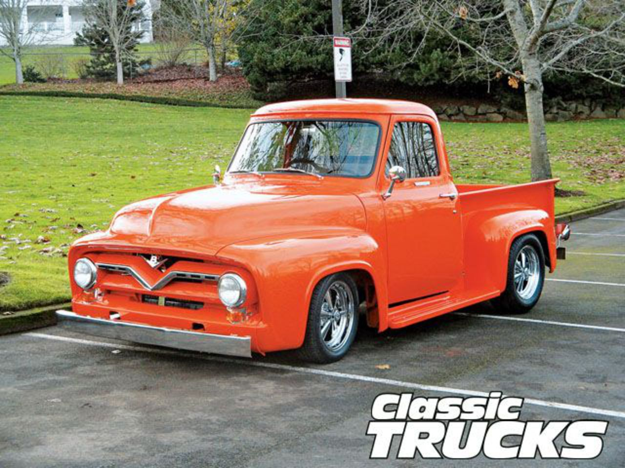 Topworldauto Photos Of Ford F100 Pickup Photo Galleries 1955 Truck Front Bumper
