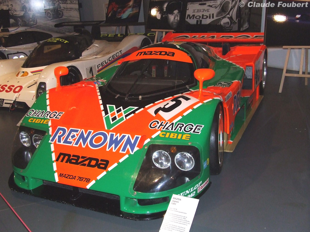 The suave, sinuous, and brutal 787B The engine could rev over 10,000rpm and