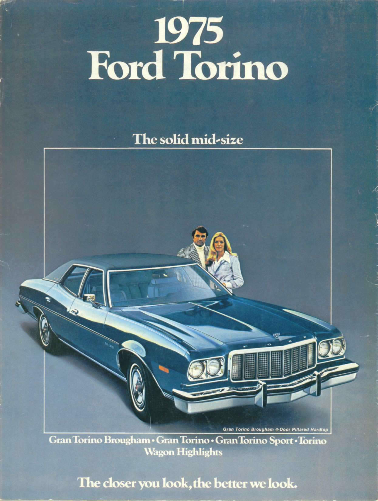 My Friend Todd Had A  Ford Gran Torino Elite This Brochure Is From