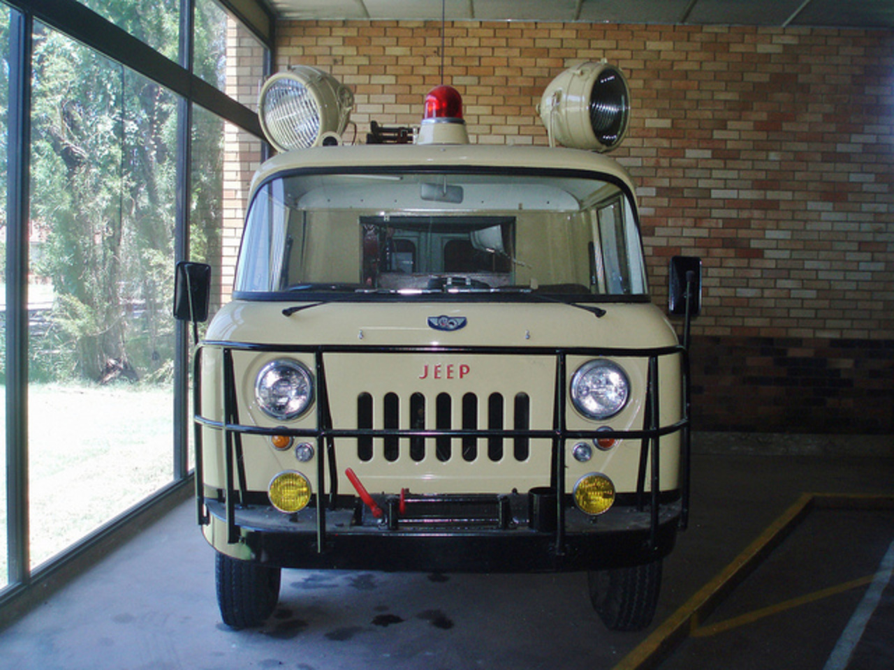 1961 Willys Jeep FC-170 4WD ambulance rescue truck | Flickr ...