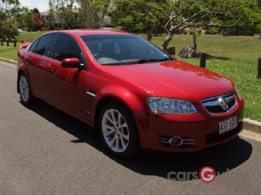 2012 HOLDEN COMMODORE EQUIPE VE II MY12