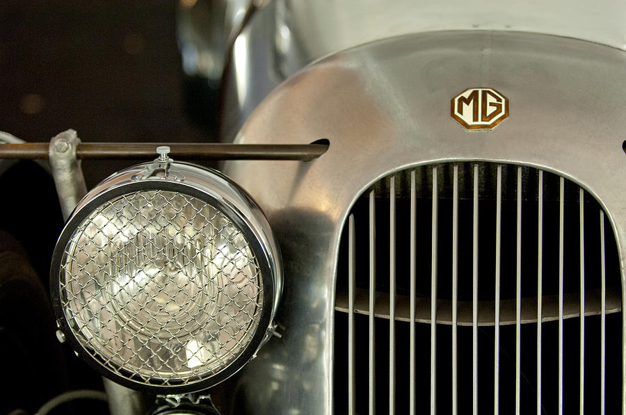 1934 Mg Pa Midget Supercharged Special Speedster Grille