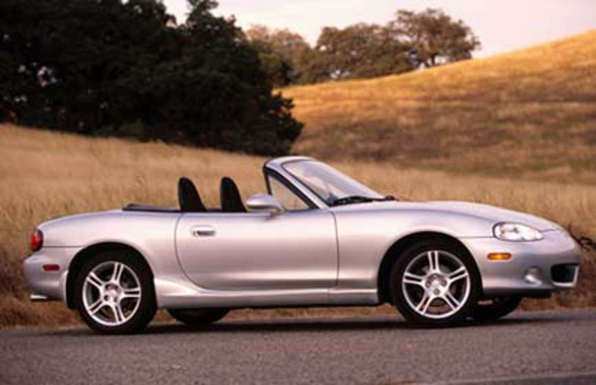 Mazda Miata spares and Miata car parts are further categorised into Apparel,