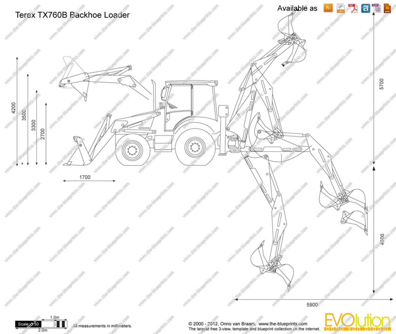 TopWorldAuto >> Photos of Terex TX 760 B - photo galleries