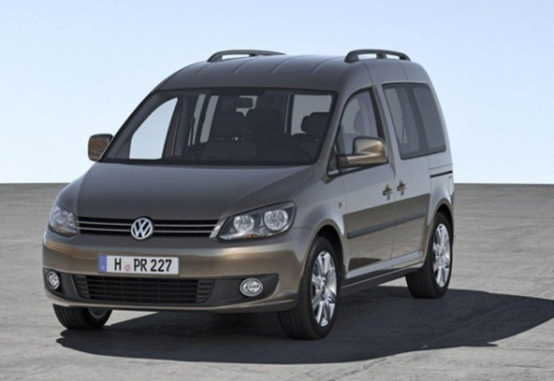 very attractive features. But the new Volkswagen Caddy this hardware